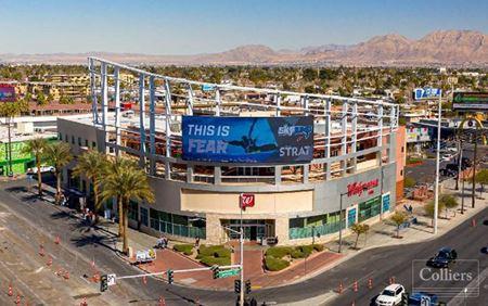STRIP RETAIL SPACE FOR LEASE - Las Vegas
