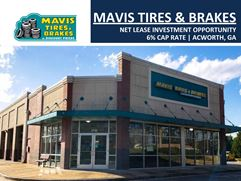 Mavis Tires & Brakes Net Lease Investment Opportunity | 6% Cap Rate - Acworth