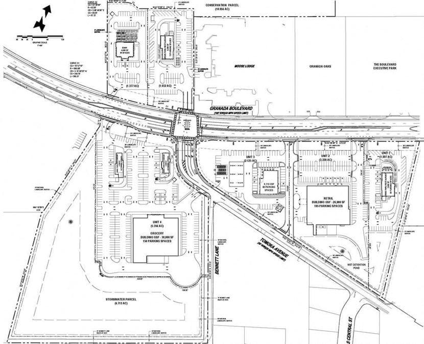 Granada Boulevard Development Sites
