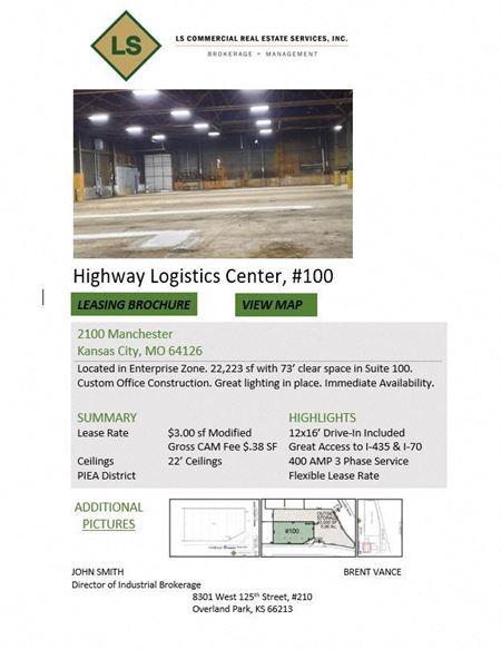 Highway Logistics Center, #100 - Kansas City
