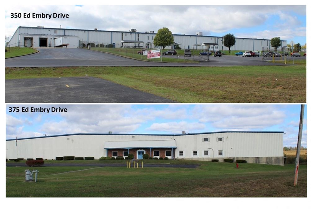 Two Industrial Facilities | +/-283,000 SF Combined