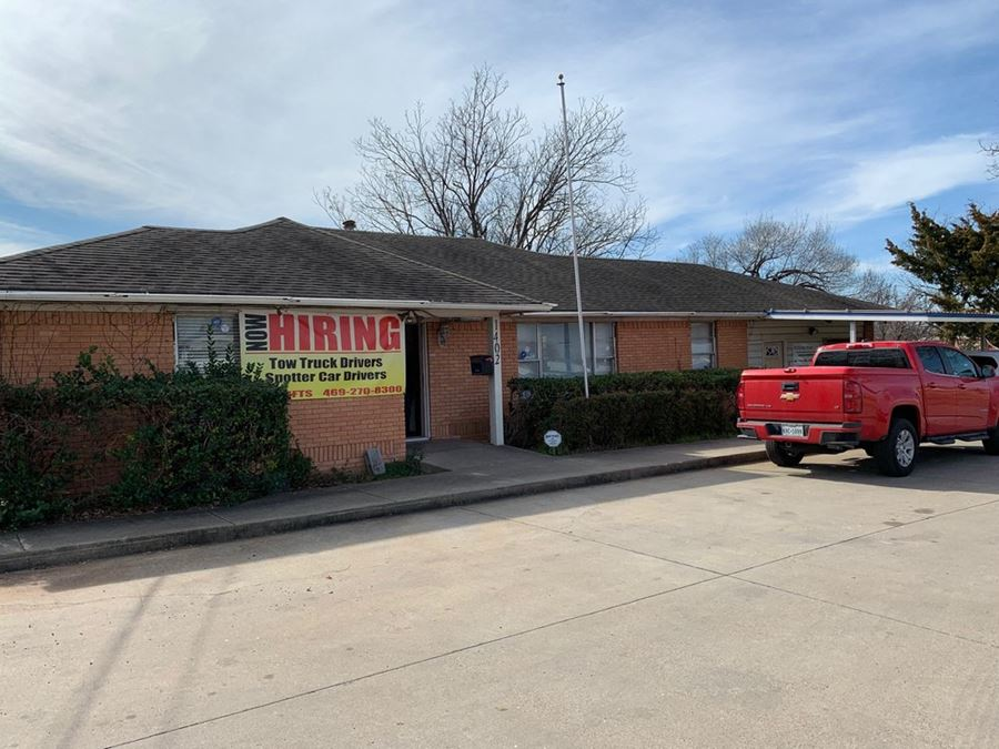 1.1 Acres with Office Building