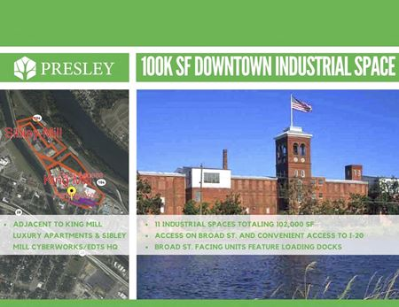 King Mill Cyber/Industrial Space - Augusta