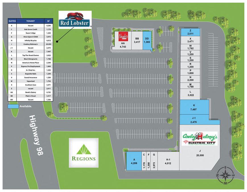 The Arbor Shopping Center