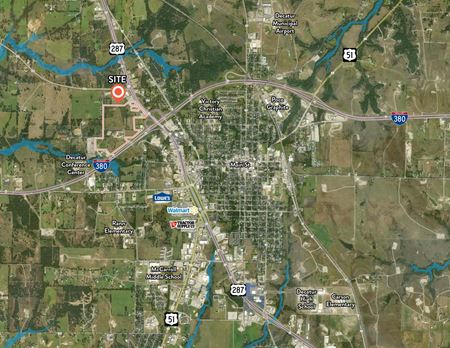 80± Acres of Land and Improvements - Decatur