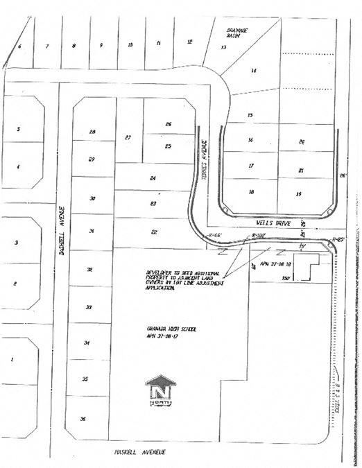 Residential Development Land in Planada, CA