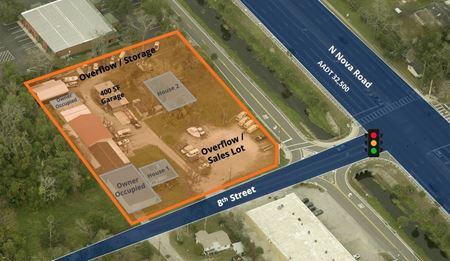 Automotive Sales and Service Space For Lease - 32117