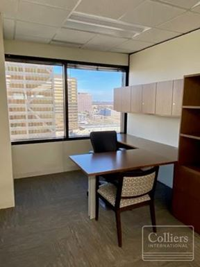 For Sublease > Suite Ready for Occupancy