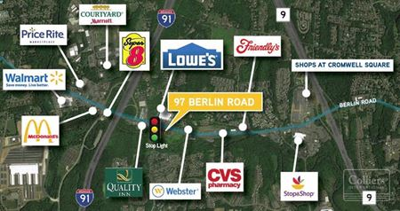 Residential Property on 0.80 Acre Lot Across From Lowe's  Potential Uses:  Professional Office, Daycare Or A Variety  Of Commercial Uses - Cromwell