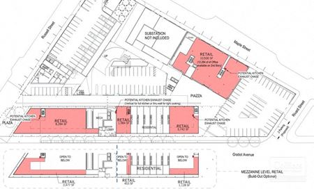 For Lease > Proposed Retail / Mixed-Use - Detroit