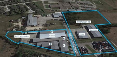 For Sale | Northeast Industrial Facility ±72,000 SF Comprised of 6 Buildings - Humble