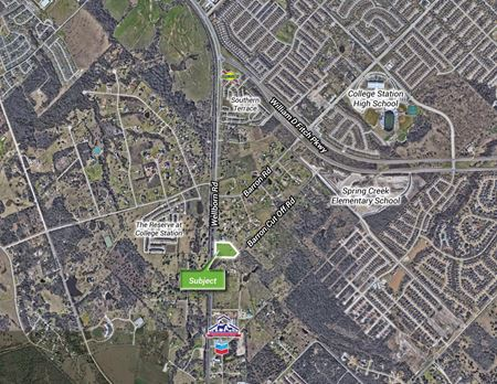4.8 AC Lot off  Wellborn Rd and Barron Cut Off Rd - College Station