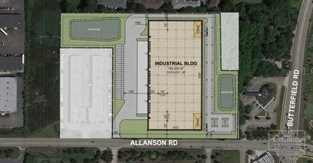 New 195,375 SF Speculative Facility Available for Lease in Mundelein, IL - Mundelein