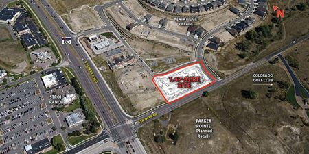 Reata Ridge Village Center Pad Site for Sale or MOB for Lease - Parker