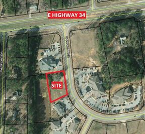 +/-1.00 ACRE PAD-READY SITE IN MEDICAL OFFICE PARK - NEWNAN