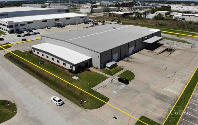 For Lease   ±40,082 SF Industrial Space in Northwest Houston