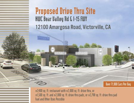 Victorville-12100 Amargosa Rd-Proposed Drive Thrus - Victorville