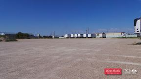 4.5 Acre Fenced Stack Yard for Lease - Lubbock