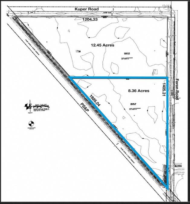 3113 Foron Road - 8.36 Acres