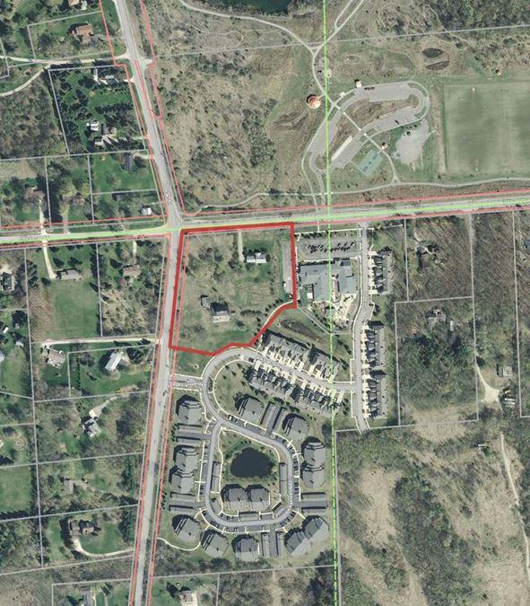 4.85 Acre Ann Arbor Mixed Use Development Site for Sale