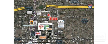 Retail Space for Lease in Heart of Downtown Phoenix - Phoenix