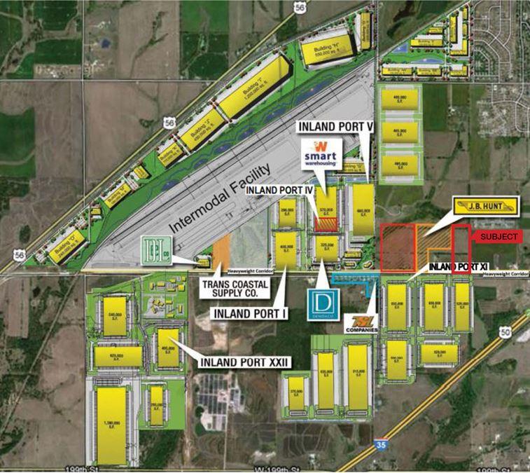 Logistics Park Kansas City Development Land