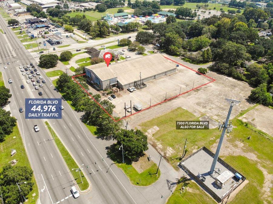 Versatile Commercial Space in Prime Florida Blvd Location