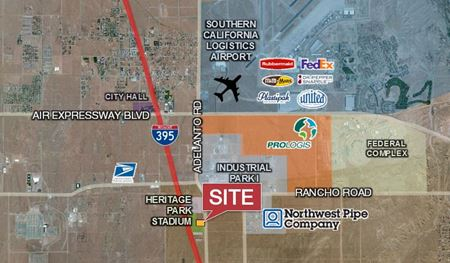 Commercial Lot just South of Heritage Park Stadium - Adelanto