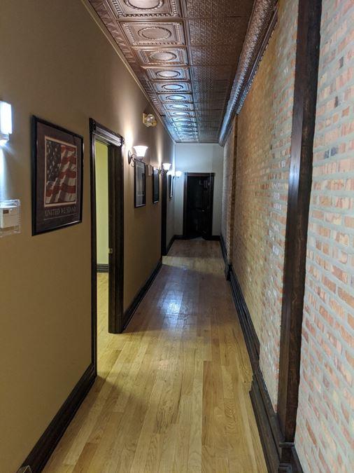 Unique Downtown Joliet Office Space