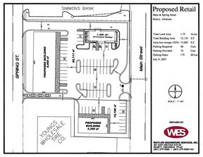 Park Place Strip Center - Searcy