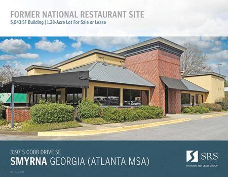 Smyrna, GA - Former Restaurant - Smyrna