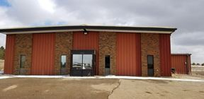 10,300 Sq Ft Shop W/ Offices on 1.8 Acres In North Dickinson - Dickinson