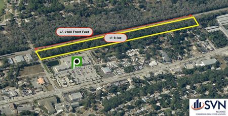 Shovel Ready  +/- 9 Acre Industrial/Flex Development Project - Holly Hill