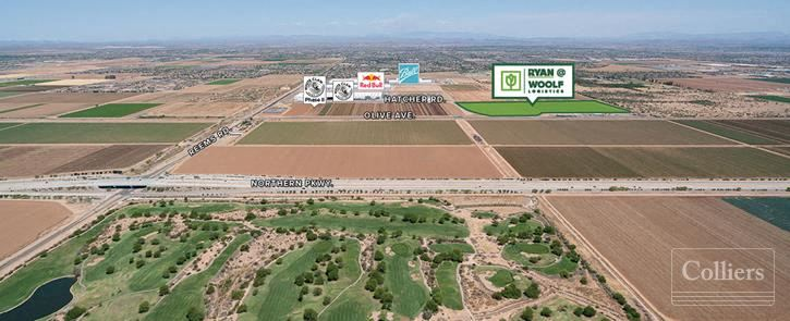 Industrial Build-to-Suit Project for Sale or Lease in Glendale Arizona