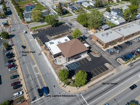 Vacant Commercial Building 6,069 SF - South Holland