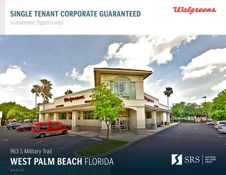West Palm Beach, FL - Walgreens - West Palm Beach