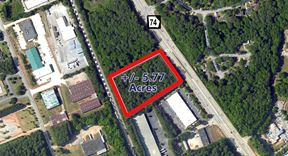 WILL SUBDIVIDE - 5.77 Acres Hwy 74 - Peachtree City