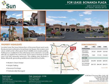 Bonanza Plaza - Las Vegas