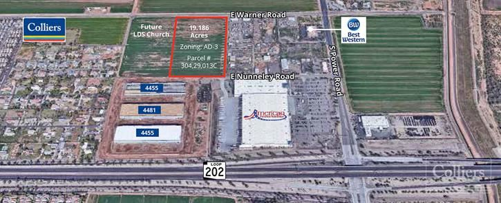 Industrial - Commercial Land for Sale in Gilbert