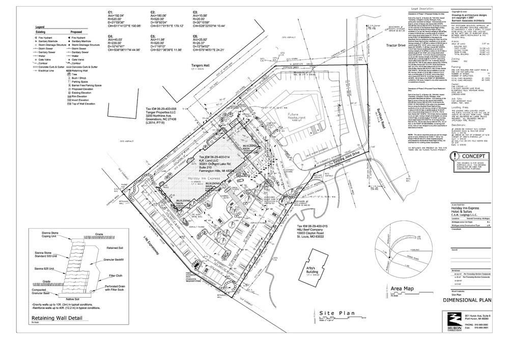Holiday Inn Express - Pad Site