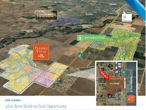 +/--5.6 Acre Build-to-Suit Opportunity