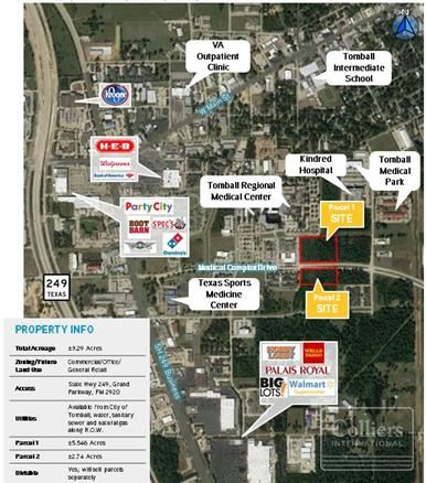 For Sale | Land Near Tomball Medical Center Area