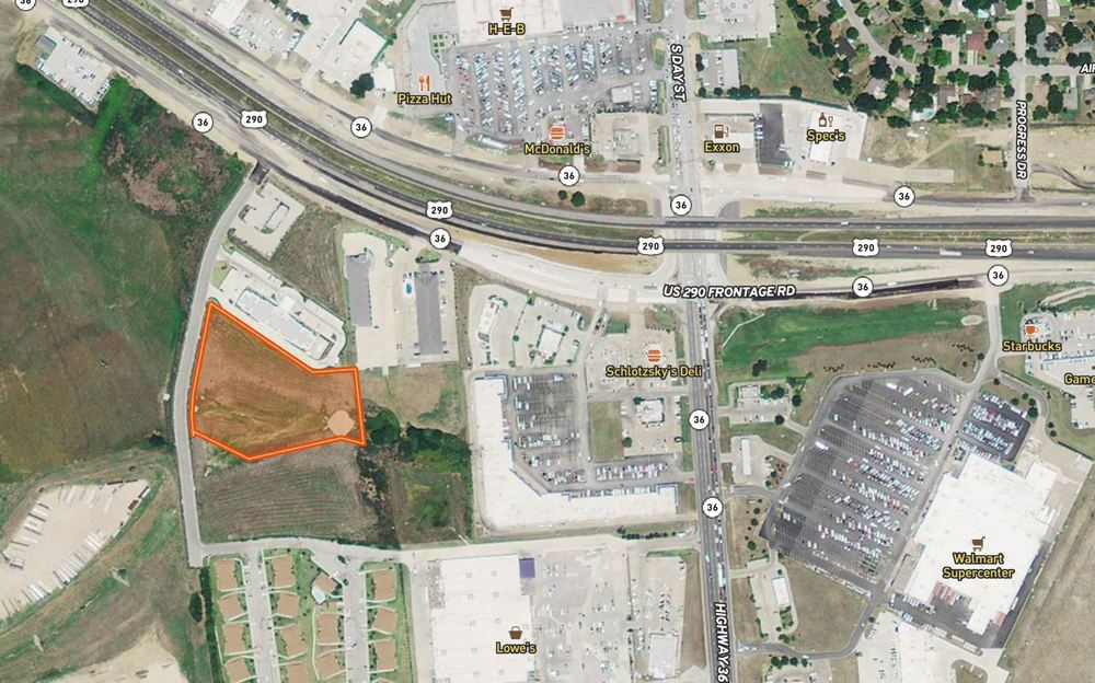 ± 3.77 Acres | Hwy 290 W | Brenham, TX