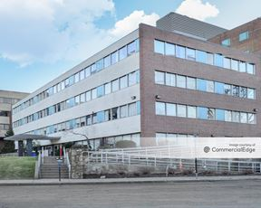 Newton-Wellesley Hospital - Green, Blue & White Buildings