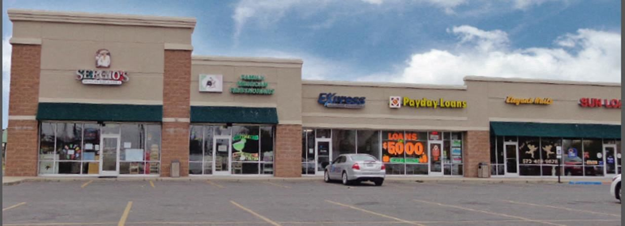 End Cap Available with Drive Thru Opportunity - Shopping Center, Sikeston MO