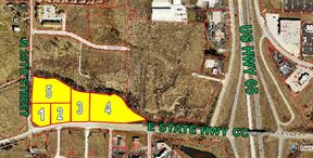 5 Lots on Hwy 65 & CC For Sale - Ozark