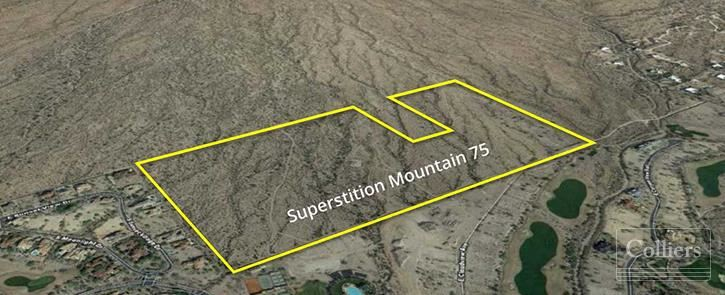 Superstition Mountain Single-Family Development Land for Sale