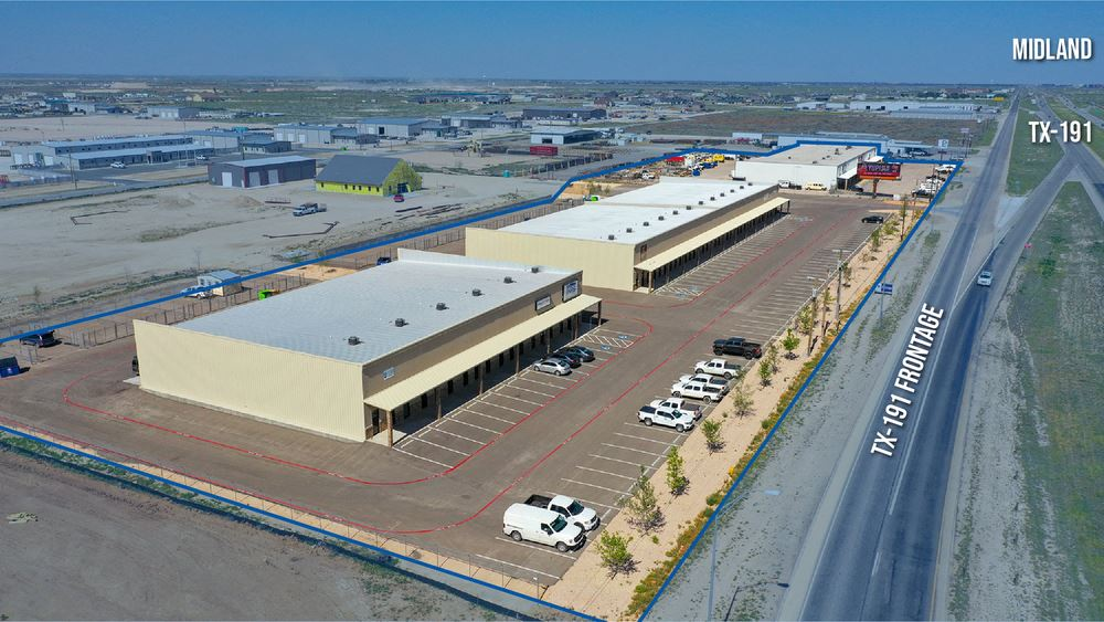 Industrial Units - Flexible Terms - TX-191 Frontage