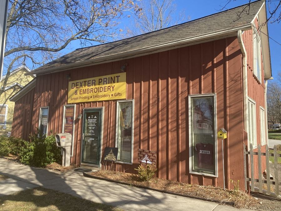 Retail Commercial for Lease in Downtown Dexter