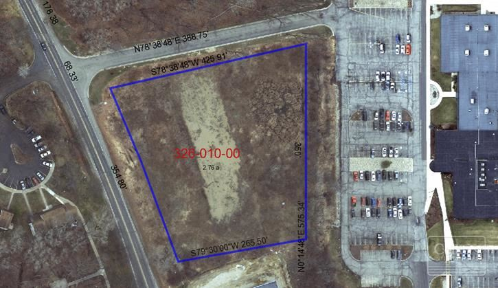 2.76 Acres of Vacant Land